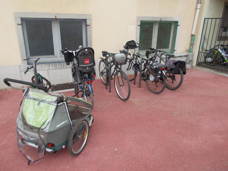 CYCL'O TERRE bureau d'études environnement stationnement vélo Ecole Pfister Colmar
