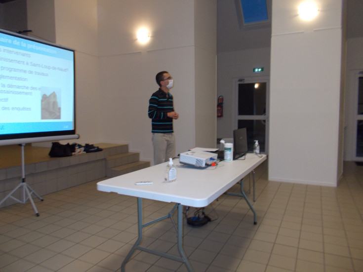 CYCL'O TERRE bureau d'etudes environnement reunion publique Saint-Loup-de-Naud