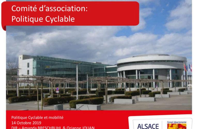 CYCL'O TERRE bureau d'etudes environnement comité association politique cyclable CD68