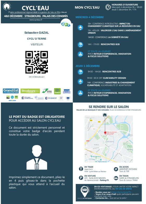 CYCL O TERRE bureau d etudes environnement salon CYCL EAU Strasbourg