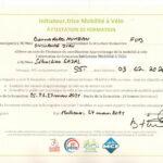 CYCL O TERRE bureau d etudes environnement attestation formation Initiateur Mobilite a Velo IMV FUB