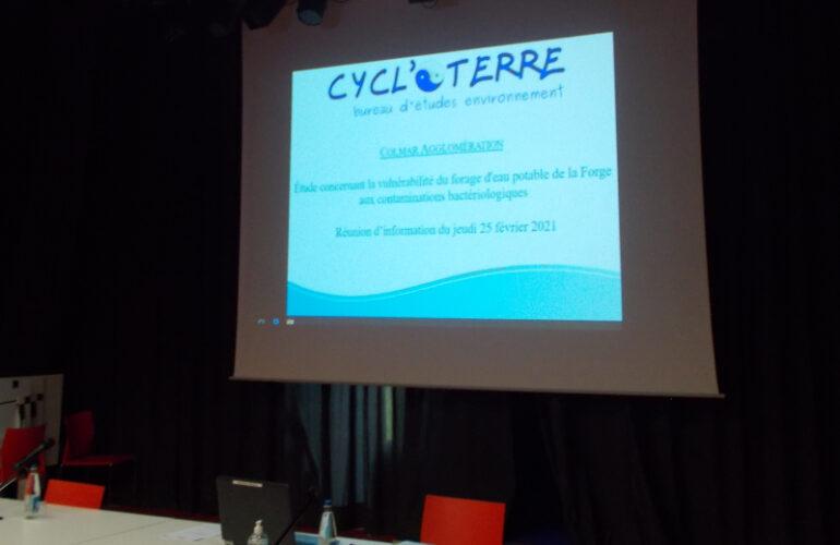 CYCL'O TERRE bureau d'étude environnement réunion info Colmar Agglo